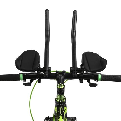 Bike Rest Handlebar Cycling Aero Bar Bicycle Relaxation Handle Bar Triathlon MTB Road Bike Arm Rest Bar Bike Aerobar