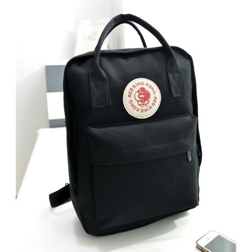 Moda multi-funzionale borsa a tracolla tela borsa grande capacità zaino casual per ragazze studenti