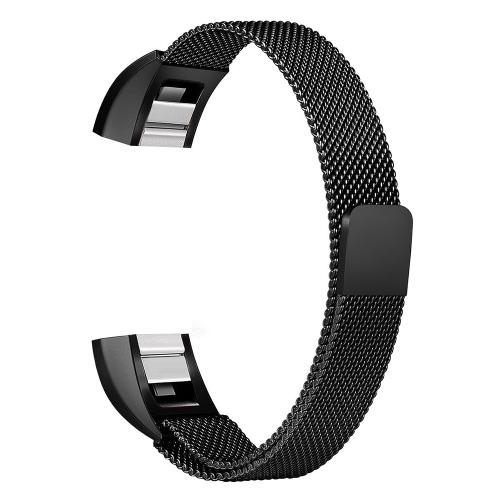 Verstellbare Edelstahl-Metall-Band einzigartiges Design Zubehör für Fitbit Alta HR Armband