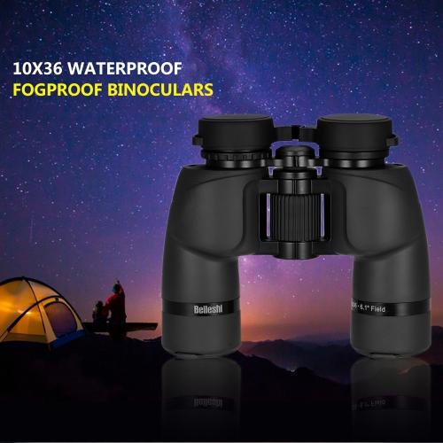 10x36 Binoculars Waterproof Fogproof Outdoor Sport Binoculars Telescope Wide Band Coated for Hunting Bird Watching Backpacking thumbnail