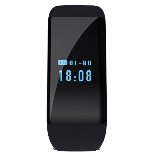 Smartbandハートレートモニターリストバンド歩数計睡眠モニタースマートブレスレット健康フィットネストラッカーAndroidおよびiOS用