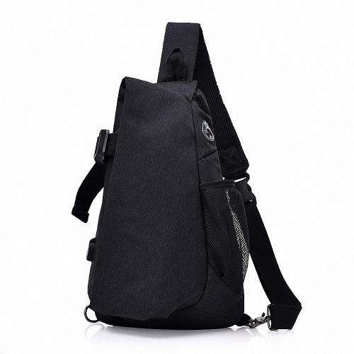 88b1d09fa60a Lixada Men Chest Bags Casual Chest Pack Anti Theft Sling Crossbody Bags  Messenger Bag Shoulder Bag