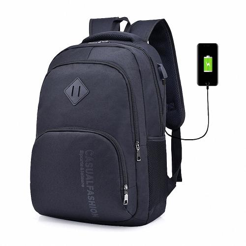 Mochila para portátil Lixada para hombre con puerto de carga USB