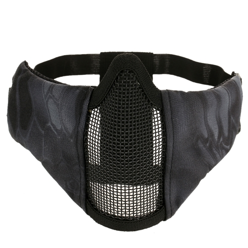 Lixada Tactical plegable media mascarilla