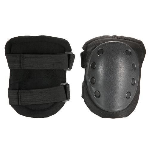 Lixada 2PCS Heavy Duty Outdoor Продвинутые защитные подушечки для коленей Регулируемые коньки для колясок для пейнтбола