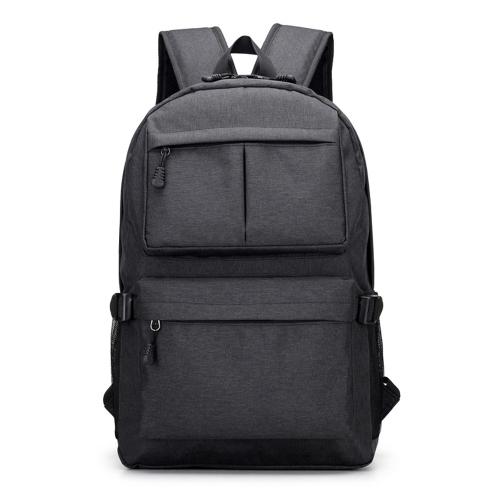 Zaino per laptop Zaino per scuola USB Porta di ricarica Business casual da viaggio Bicicletta da trekking Escursionismo Borsa da campeggio