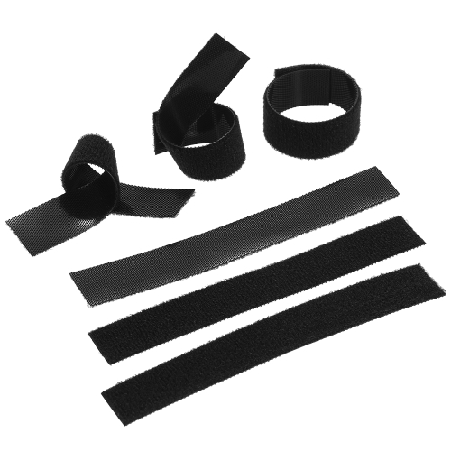 6 Stück Verschlussband Magic Strap Fixed Gürtel Umreifungsband Band Befestigung Klebeband Klebrig Klebeband