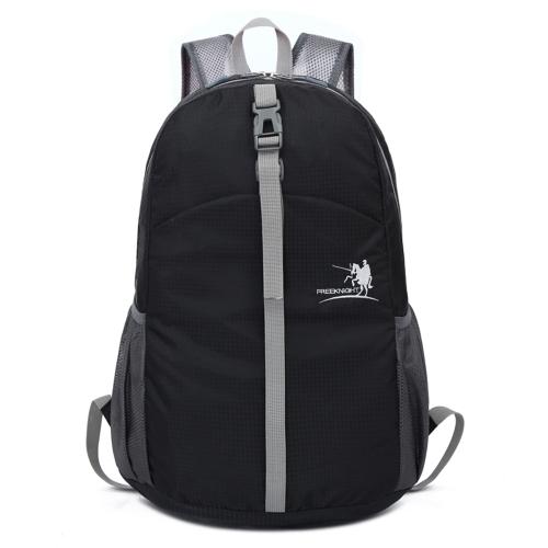 30L ligero plegable bolsa de deporte hombres mujeres al aire libre resistente al agua nylon camping mochila senderismo viajes alpinismo