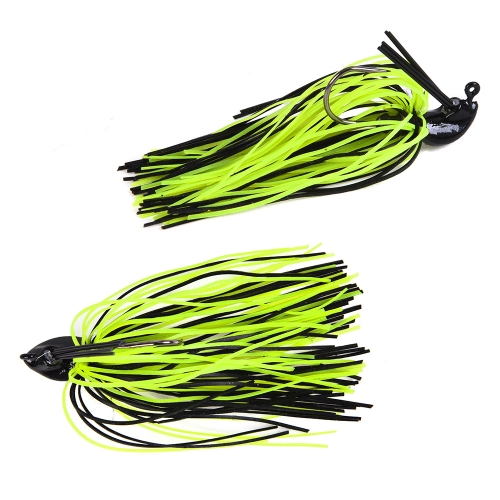 7g-10g Fishing Buzz Bait Spinnerbait Lure Buzzbaits with Jig Head Hook Mixed Color