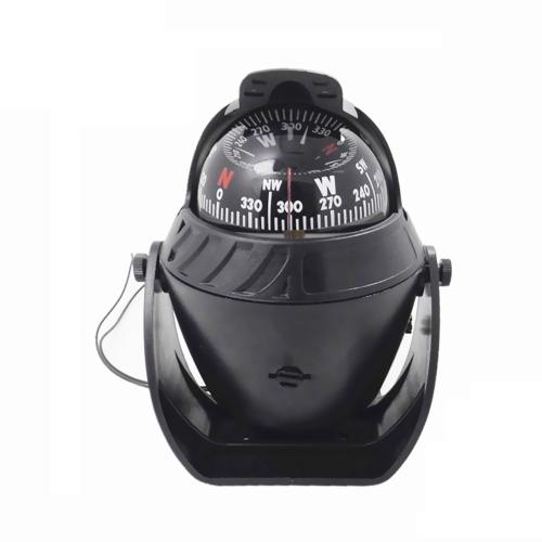 Bussola magnetica per auto ad alta precisione Bussola multi-funzionale per navigazione navale marina elettronica a LED