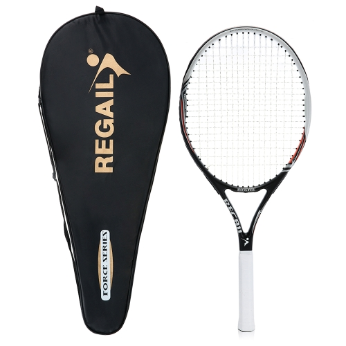 1Pc Carbon Tennis Racket Indoor Outdoor Практика Тренировка Теннисный ракетка с сумкой для багажа