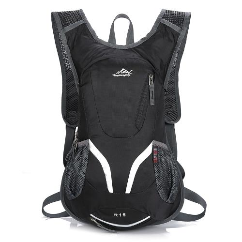 15L Велосипедный рюкзак для велосипеда Сверхлегкий открытый спортивный день для путешествий Daypack для мужчин