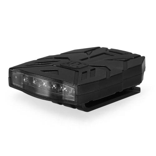 5 LED luce per clip ricaricabile