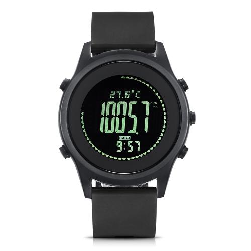 SPOVAN Outdoor Sports Watches Business Watch Impermeabile Sport Multifunzionale Orologio da esterno Altimetro Termometro Previsioni Meteo Cronometro