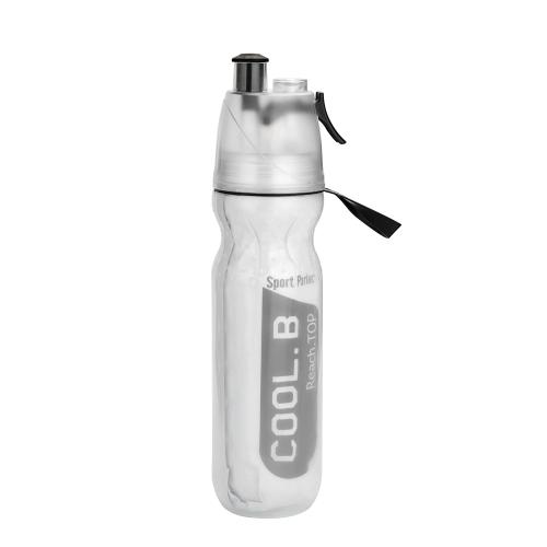 Портативная бутылка для воды с водяным распылением