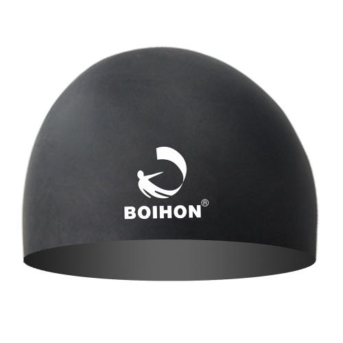 Cuffia da nuoto in silicone elastico alta protezione impermeabile per capelli confortevole Proteggi le orecchie Cuffie da nuoto elasticizzate