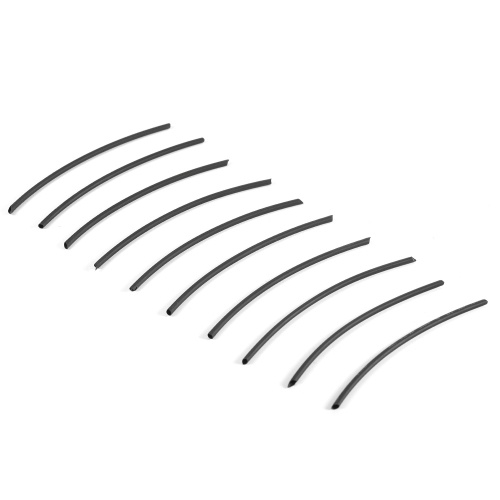 10 pcs Rig Fabrication Thermorétractable Tubes Carpe De Pêche Rig Shrink Tube Crochet Queue De Cheveux Terminal Rig