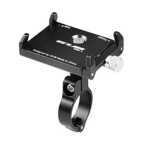 Gub anti-derrapante bicicleta titular do telefone ajustável suporte de montagem guiador clipe stand para 3.5-6.2inch telefone móvel inteligente para android para iphone