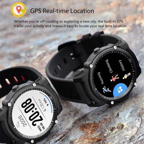 Image of 1.26inch Transflective TFT Screen GPS Heart Rate Monitor Sport Watch