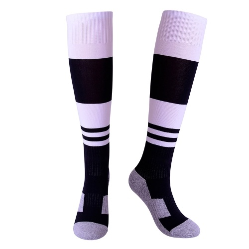 Saugfähige Jugend-Fußball-Socken-Kalb-Leistungs-Fußball-Socken Sport-Strumpf-Tuch-untere Schlauch-Socken