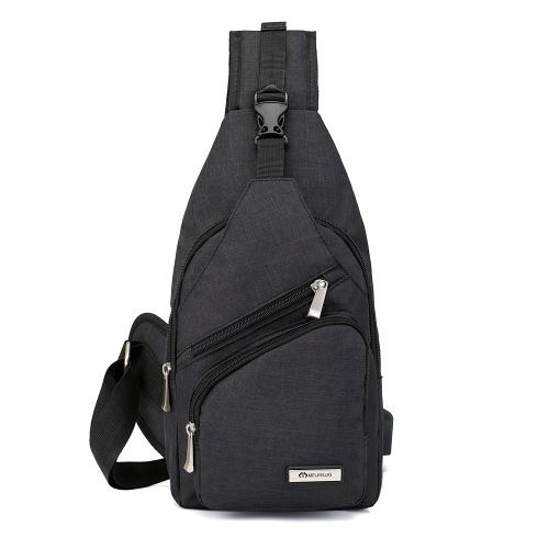 Портативная сумка для мужчин с наружной рекламой Путешествия Велоспорт Многофункциональные пары Маленькие сумки с USB-портом