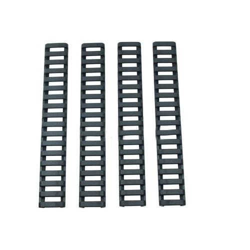 Échelle Rail Panneau Protège-main Protecteur Couvercle Résistant Trapézoïdal Rail Voie Fishbone Strip Handguard Transmetteur Accessoires Rail Wrap