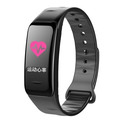 Bunten Bildschirm Digital BT Smart Band Schritt Pulsmesser Blutdruck Intelligente Test Überwachung Armband Wasserdicht Fitness Armband Schlaf Tracker Uhr Sport