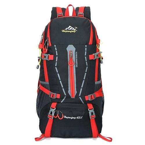 45L Кемпинг Рюкзак Водонепроницаемый Легкий Открытый Отдых плеча Сумка Повседневный большой школьный рюкзак