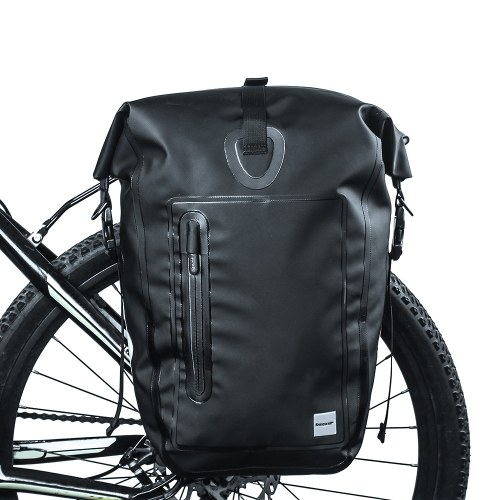 25L Водонепроницаемый велосипед Задняя стойка Pannier Bag