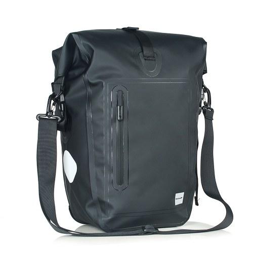 25L Waterproof Bike Bicycle Rear Rack Pannier Bag Image