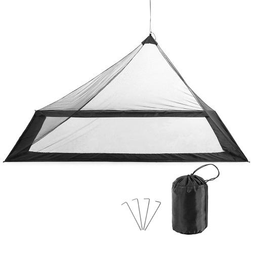 Lixada Ultralight Mosquito Net Bugs Мягкая сетчатая сетчатая сетчатая палатка для палатки с насекомыми