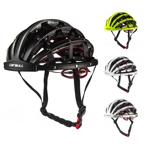 Image of Bike Helmet Foldable Cycling Helmet Adult Road Bike Safety Helmet Lightweight Sports Protective Equipment