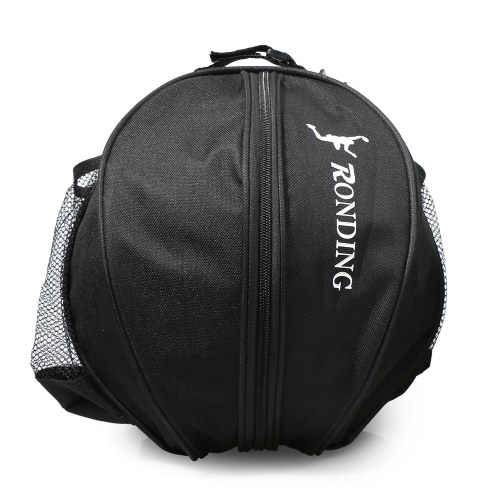 Sports Ball Round Bag Basketball Shoulder Bag Soccer Ball Football Volleyball Carrying Bag Travel Bag for Men and Women