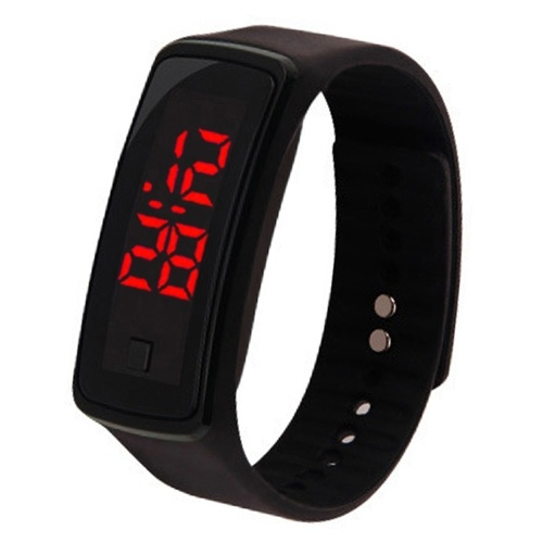 Kinder Sport Elektronische LED Armband Silikon Smart Watch Kinder Handgelenk Digitaluhren
