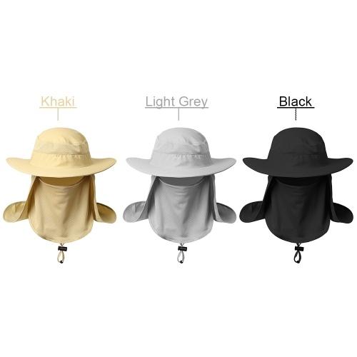 UV Protection Wide Brim Cap фото