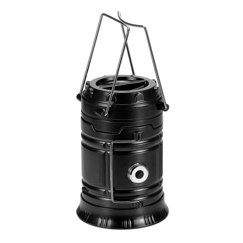 Collapsible Camping Lantern Flashlight Outdoor Portable LED Hand Torch Lamp Tent Light Emergency Light with Foldable Handles
