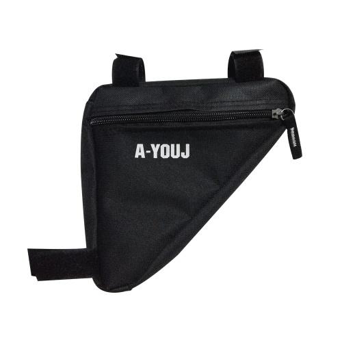 Bolso delantero del bolso de la bolsa del marco del tubo de la silla de montar de la bicicleta
