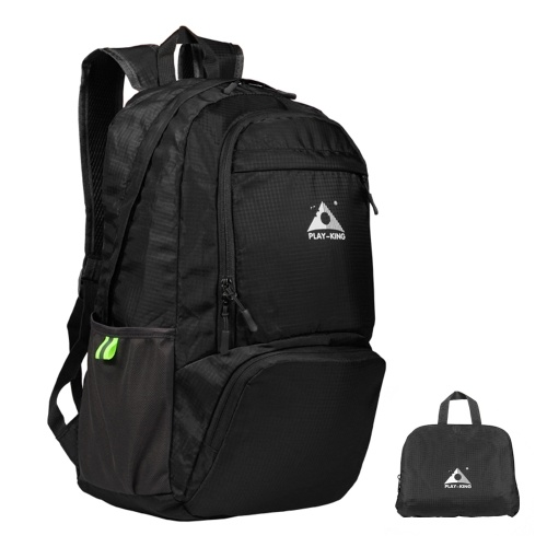 Leichter faltbarer Rucksack Wasserfeste Falttasche im Outdoor-Pack