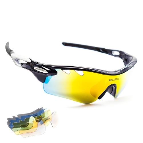 Spolaryzowane sportowe okulary przeciwsłoneczne