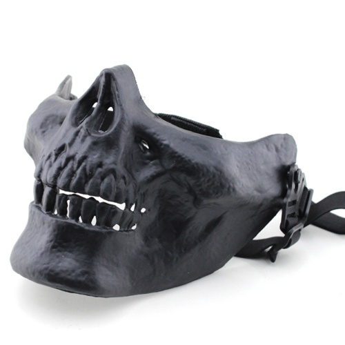 MA-15 Creative Horrible Cosplay Outdoor Honorable Person CS Halloween Half Face Protective Safety Mask Prop фото
