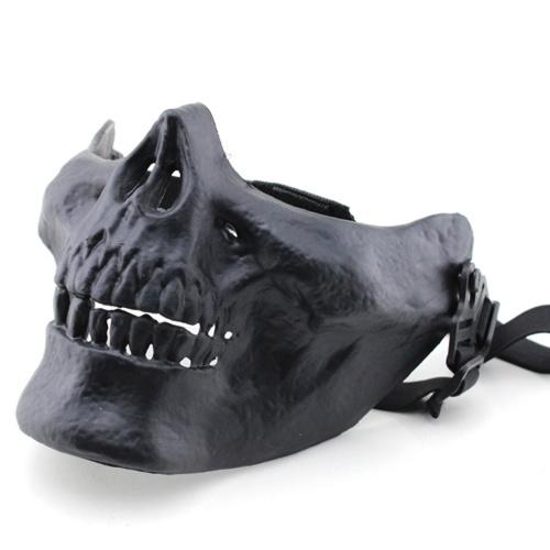 MA-15 Cosplay Horrible Creativo Persona Honorable al aire libre CS Halloween Media Cara Máscara de seguridad protectora Prop