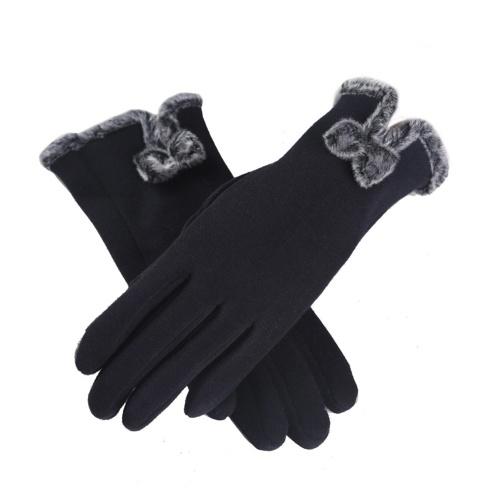 Frauen-Winter-warmer weicher Fullfinger Touch Screen Handschuh