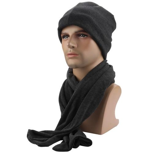 Banda antiestática sombrero bufanda conjunto cuello