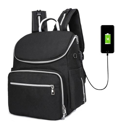 Mumie Wickeltasche mit USB-Schnittstelle