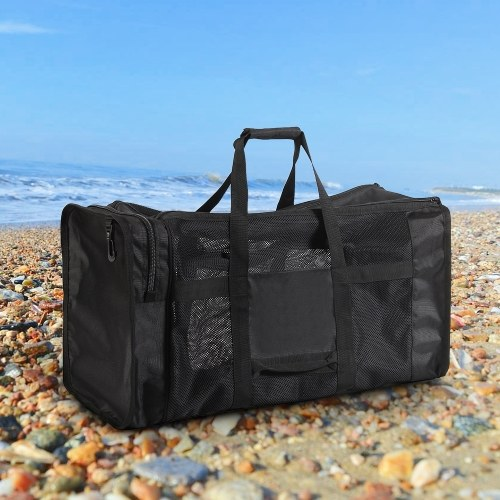 100L Mesh Duffle Gear Bag