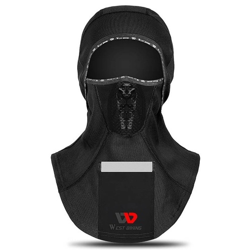 Breathable Windproof Face Cover with Pocket Men Women Reflective Face Mask Warm Outdoor Neck Sleeve Autumn Winter Neck Scarf Sport Mask Motorbike Cycling Head Cap  for Cycling Skiing Motorbiking Climbing