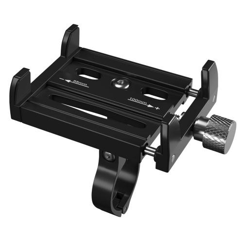 Fahrradtelefonhalterung Aluminiumlegierung Fahrradtelefonhalter Motorrad Einstellbare Telefonunterstützung