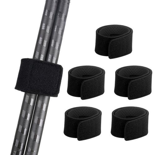 5PCS Fishing Rods Belt Ties Fishing Pole Belt Strap