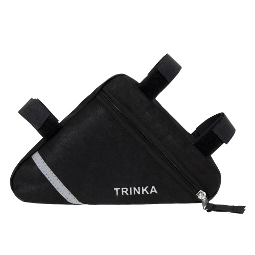 Bicycle Frame Bag Front Tube Frame Triangle Pouch Phone Bag