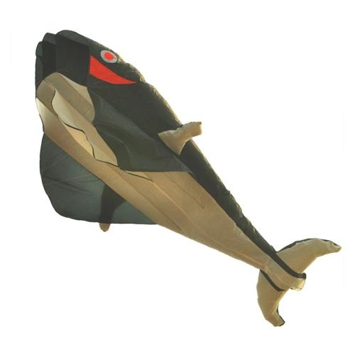 Огромный безрамный мягкий змей с 3D-дельфином, легко летать для игр и мероприятий на открытом воздухе, легко собрать для детей, новичков, легко летать, кайт для пляжных парков, садовых площадок